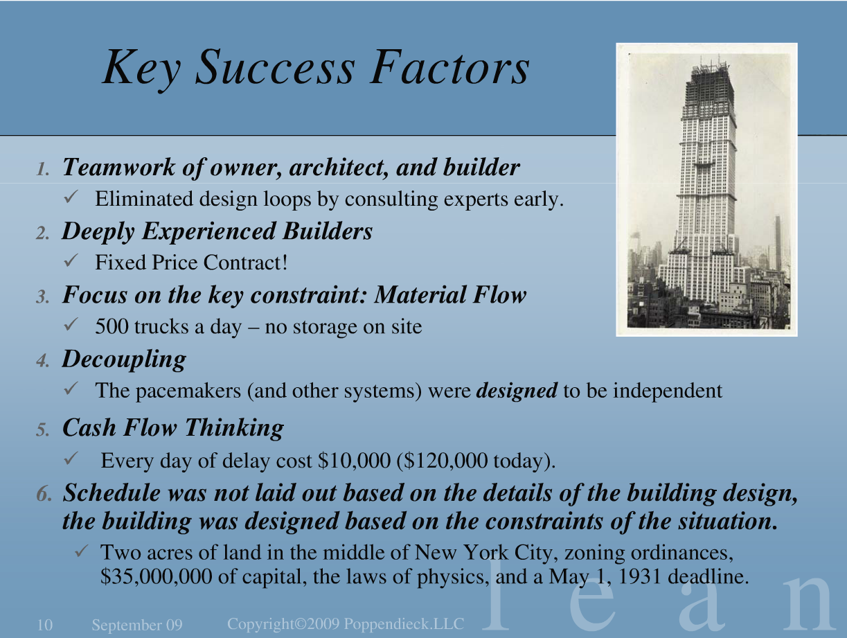 Key Success Factors - Chris Gagné